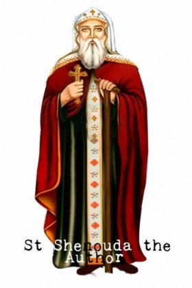 St Shenouda the Author - St Shenouda Monastery Pimonakhos Articles