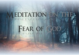 Meditation on the Fear of God - St Shenouda Monastery Pimonakhos Articles