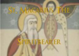 St. Macarius The Spiritbearer - St Shenouda Monastery Pimonakhos