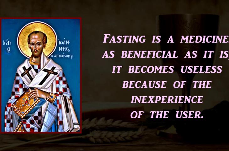 On Fasting | St Shenouda Monastery Pimonakhos Articles